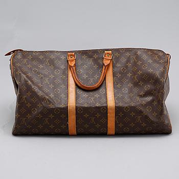 "VÄSKA, ""Keepall 55"", Louis Vuitton."