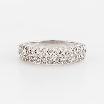 RING med briljantslipade diamanter, totalt 1,00ct enligt gravyr.