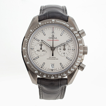 OMEGA, Speedmaster, Grey Side of the Moon, Chronometer, chronograph, wristwatch, 44,25 mm,