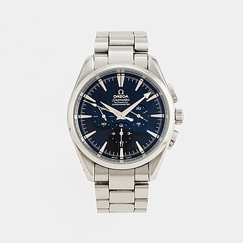 OMEGA, Seamaster, Aqua Terra, Chronometer, kronograf, armbandsur, 42 mm,