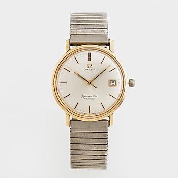 OMEGA, Seamaster De Ville, armbandsur, 34,5 mm,