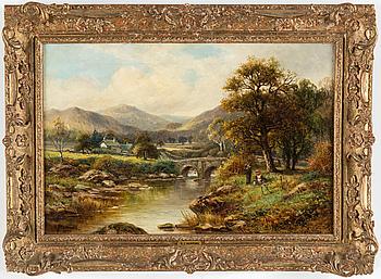 ROBERT JOHN HAMMOND, olja på duk, signerad och daterad 1902.