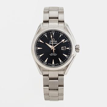 OMEGA, Seamaster, Aqua Terra, Chronometer, armbandsur, 34 mm,
