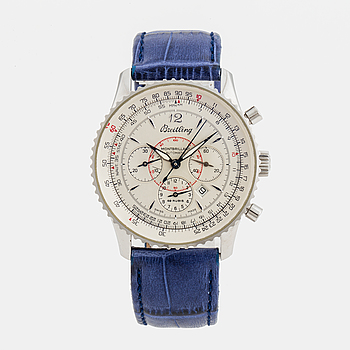 BREITLING, Montbrillant, Chronometre, kronograf, armbandsur, 38 mm,