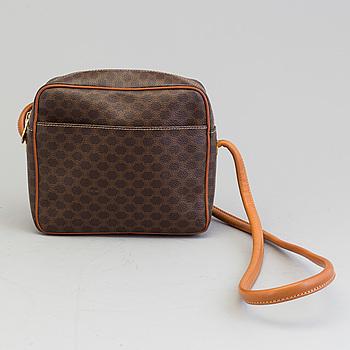 CÉLINE, CÉLINE, a canvas shoulder bag.