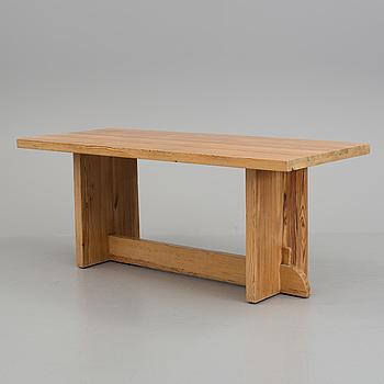 "AXEL EINAR HJORTH, An AXEL EINAR HJORTH, ""Lovö"" table, Nordiska Kompaniet, 1930s."
