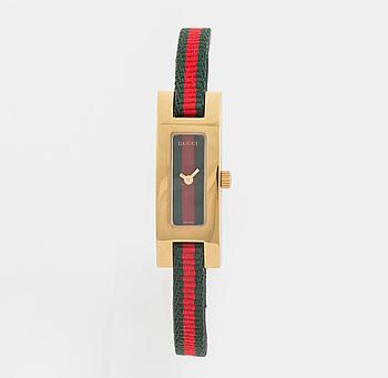 GUCCI, armbandsur, 12,5 x 24 (34) mm,