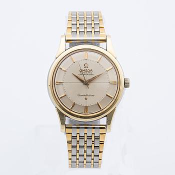 "OMEGA, Constellation, Chronometer, ""Pie-Pan"", armbandsur, 34 mm,"