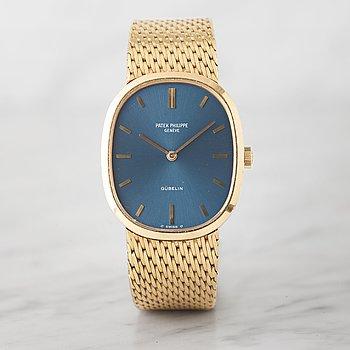 """11. PATEK PHILIPPE, """"Gübelin"""", Golden Ellipse, wristwatch, 27 x 32 mm,"""