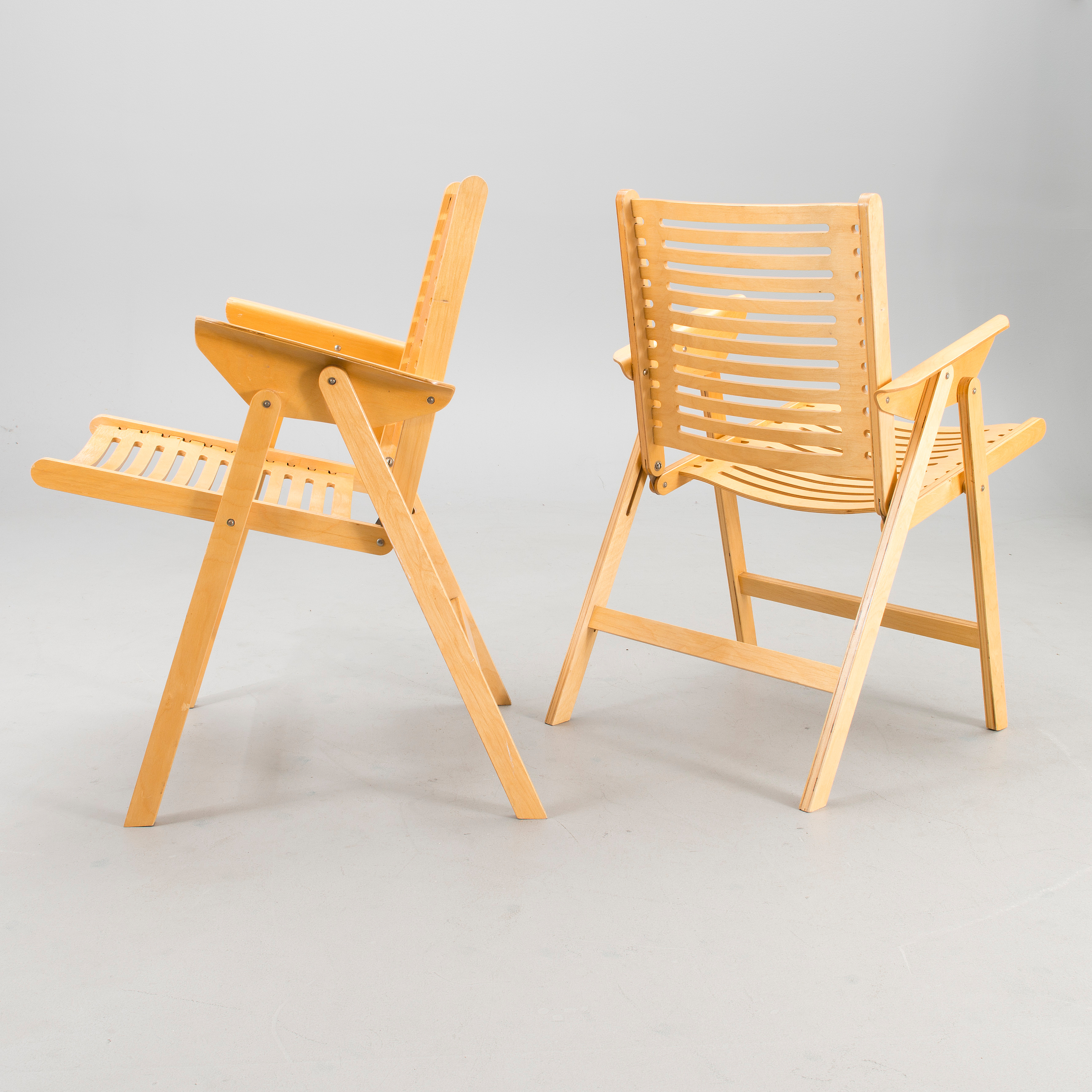 Outstanding A Pair Of Rex Lounge Chairs Designed In 1952 Bukowskis Theyellowbook Wood Chair Design Ideas Theyellowbookinfo