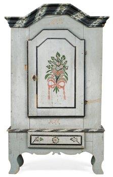 775. A Swedish cupboard dated 1828.