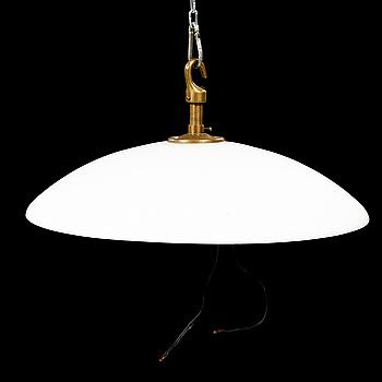 TAKPLAFOND för ljuskrona, omkring 1900-talets mitt, höjd ca 20 cm.