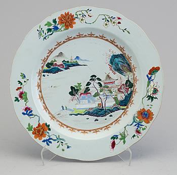 FAT, porslin, Kina (Qianlong 1736-1795).