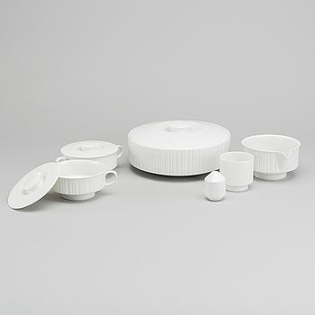 "TAPIO WIRKKALA, servis ca 23 dlr  ""Variation"", Rosenthal Studio-linie, porslin, 1960-tal."
