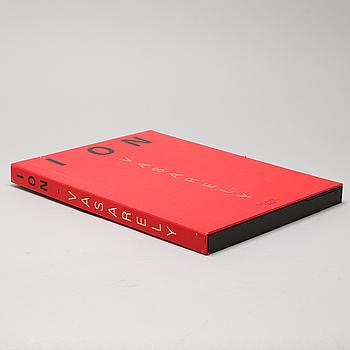"VICTOR VASARELY, 7 serigrafier i mapp, ""ION"", Falaize, 1989, numrerade 167/250."