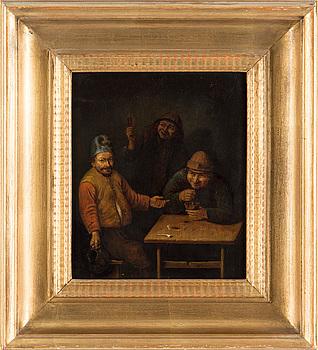 OKÄND KONSTNÄR, troligen Nederländerna, 1700-/1800-tal.