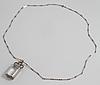 AteljÉ stigbert, stockholm, 1944, a facet cut rock crystal pendant