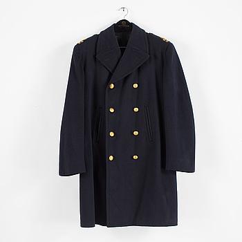 UNIFORM, 3 delar, för löjtnant vid flottan, bland annat Steens Uniformskrädderi, mestadels 1900-talets andra hälft.