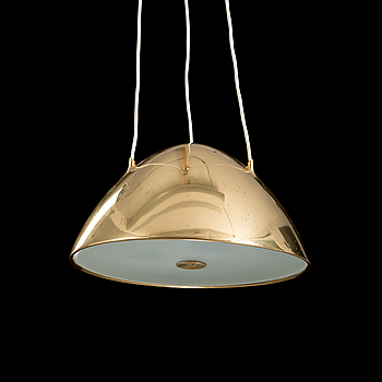 A mid-20th century '1959' pendant lamp for Idman, Finland.