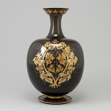A large sevres porcelain vase, france, mid 20th century.