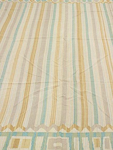Kerstin ekengren, drapes, 1 pair, flat woven, ca 344 x 254,5 and 343,5 x 252 cm, designed by kerstin ekengren, the 1950's.