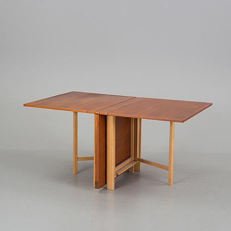 """Bruno mathsson, klaffbord, """"maria flap"""", mathsson international, värnamo, 1965"""