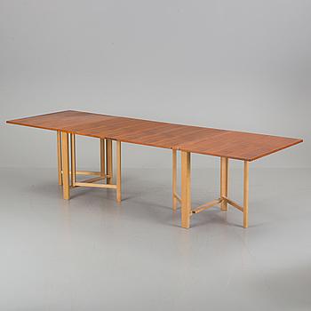 """BRUNO MATHSSON, klaffbord, """"Maria flap"""", Mathsson International, Värnamo, 1965."""