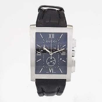 GUCCI, kronograf, armbandsur, 35 x 42 mm,