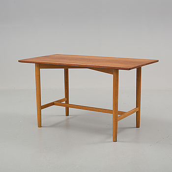 a Danish teak coffee table from the 1960's.