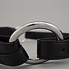 Two belts, ralph lauren, size s and m