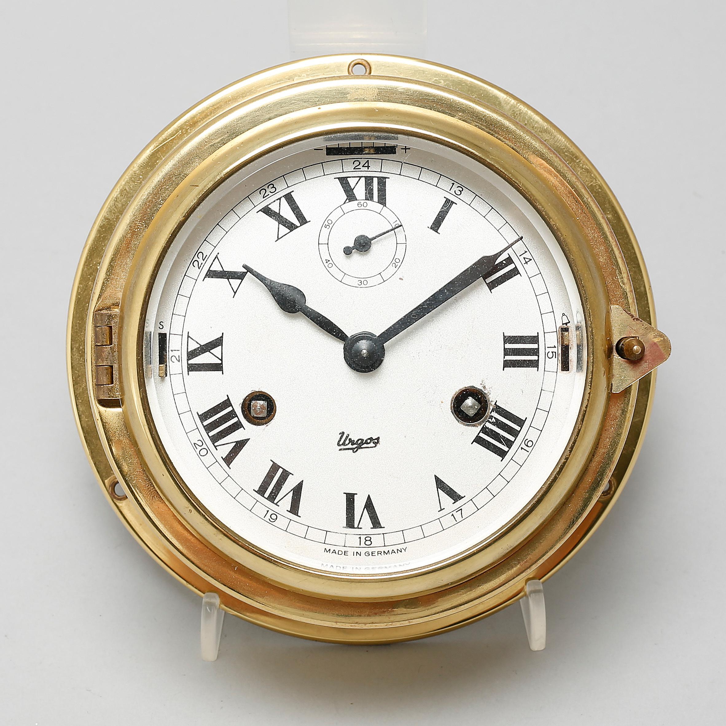 A ships clock from urgos in germany 20th century bukowskis 10662463 bukobject amipublicfo Choice Image