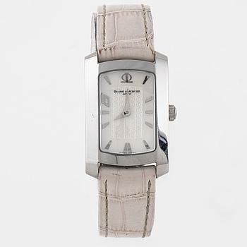 BAUME & MERCIER, Hampton, Genève, armbandsur, 22 x 28 (34) mm,
