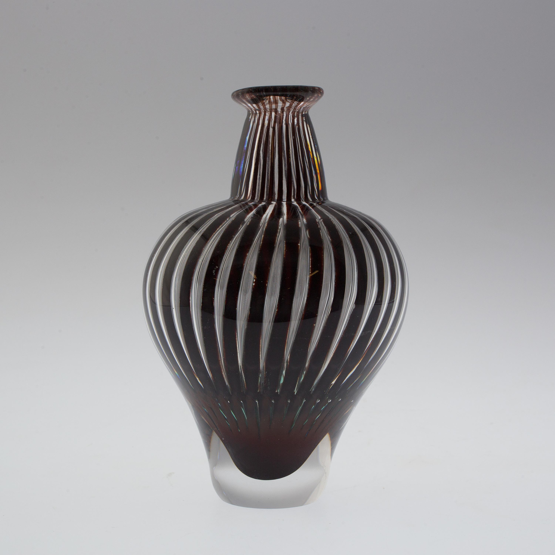 An Edvin 214 Hrstr 246 M Ariel Vase For Orrefors Bukowskis
