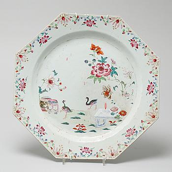 FAT, porslin, Kina, Qianlong (1736-95).