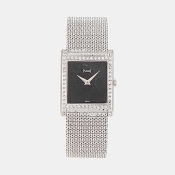 PIAGET, armbandsur, 23 x 23 (29,5) mm,