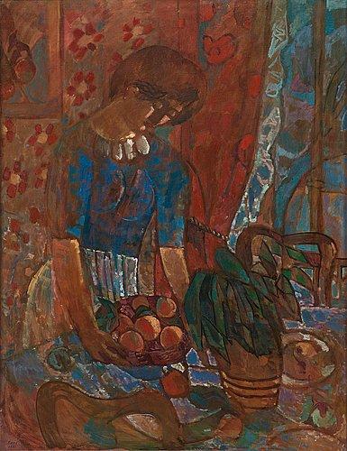 """Francisco borès, """"le panier d'oranges""""."""