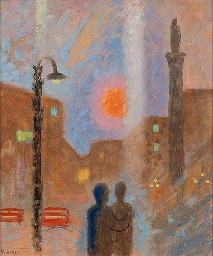 """Stellan mörner, """"solen var som en apelsin""""."""