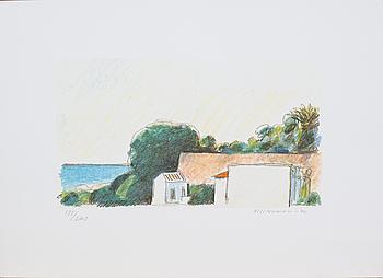 OLLE NYMAN, färglitografi. Numrerad 135/240 samt signerad och daterad -92.