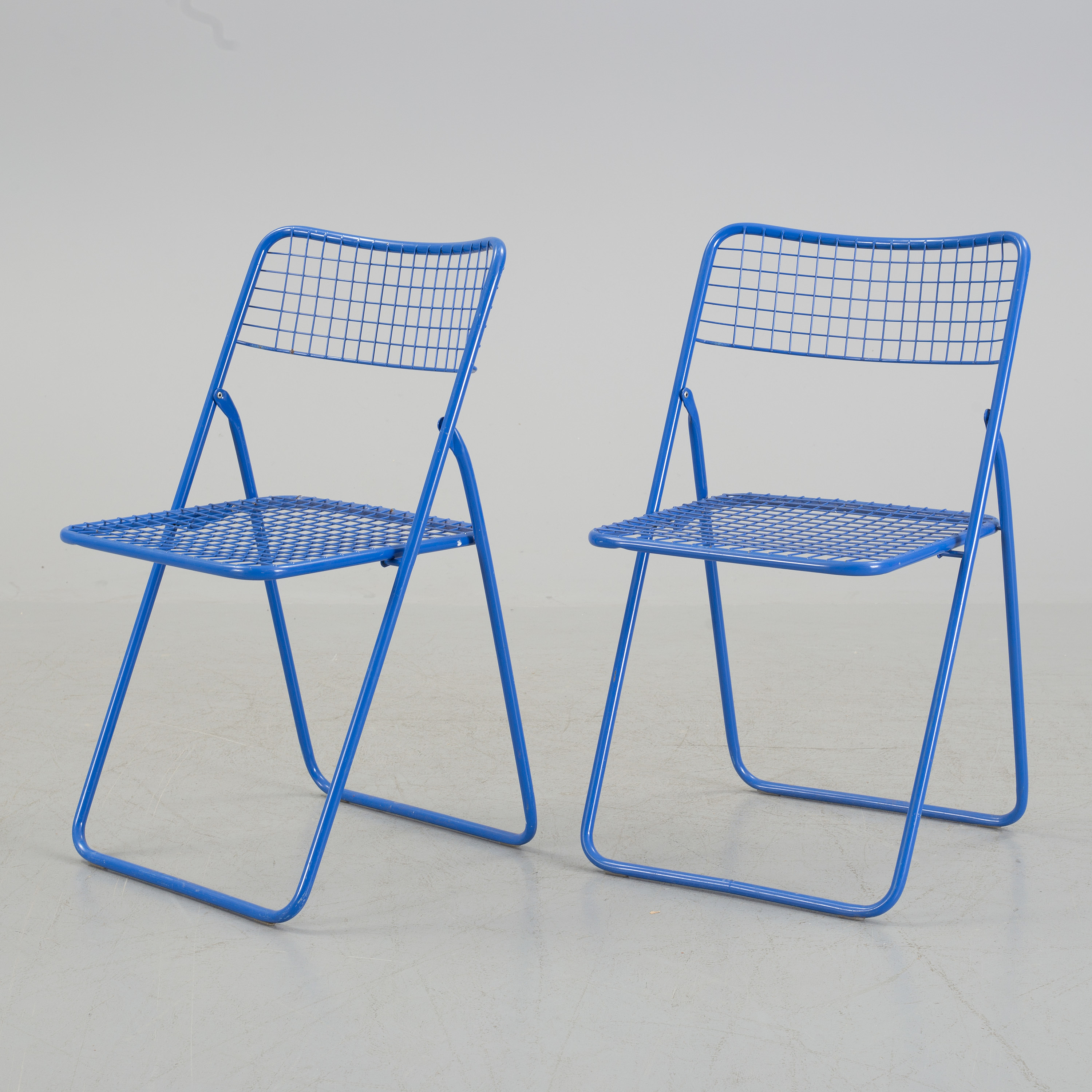 Pleasing Nils Gammelgaard Five Ted Net Metal Folding Chairs From Squirreltailoven Fun Painted Chair Ideas Images Squirreltailovenorg