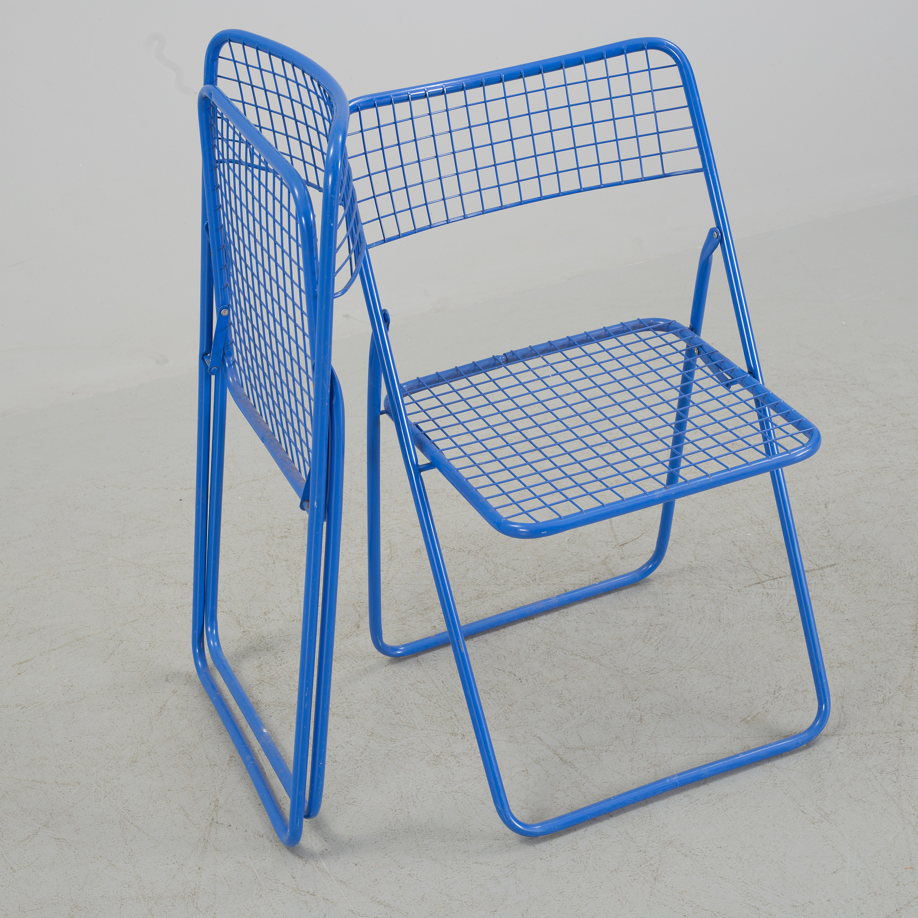 Pleasant Nils Gammelgaard Five Ted Net Metal Folding Chairs From Squirreltailoven Fun Painted Chair Ideas Images Squirreltailovenorg