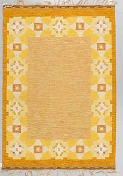 MATTA, rölakan, ca 200 x 138,5 cm, signerad IS (Ingegerd Silow).