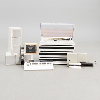 BeoSystem 6500 with Beovox CX100 speakers by Bang & Olufsen, Denmark 1989-91.