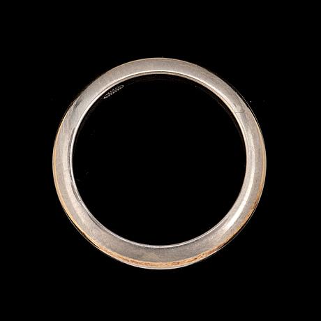A platinum ring by georg jensen.