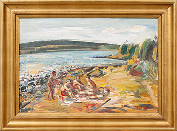 CARL RYD, CARL RYD, oil on canvas, signed and dated -34.