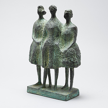 THURE THÖRN, THURE THÖRN, a bronze sculpture, signed and numbered II/X.