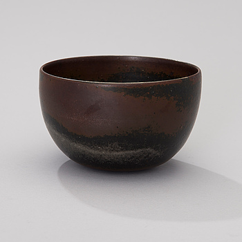 LIISA HALLAMAA (LARSEN), A ceramic bowl signed LH ARABIA.
