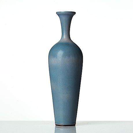 Berndt friberg, a stoneware vase, gustavsberg studio, sweden 1963.