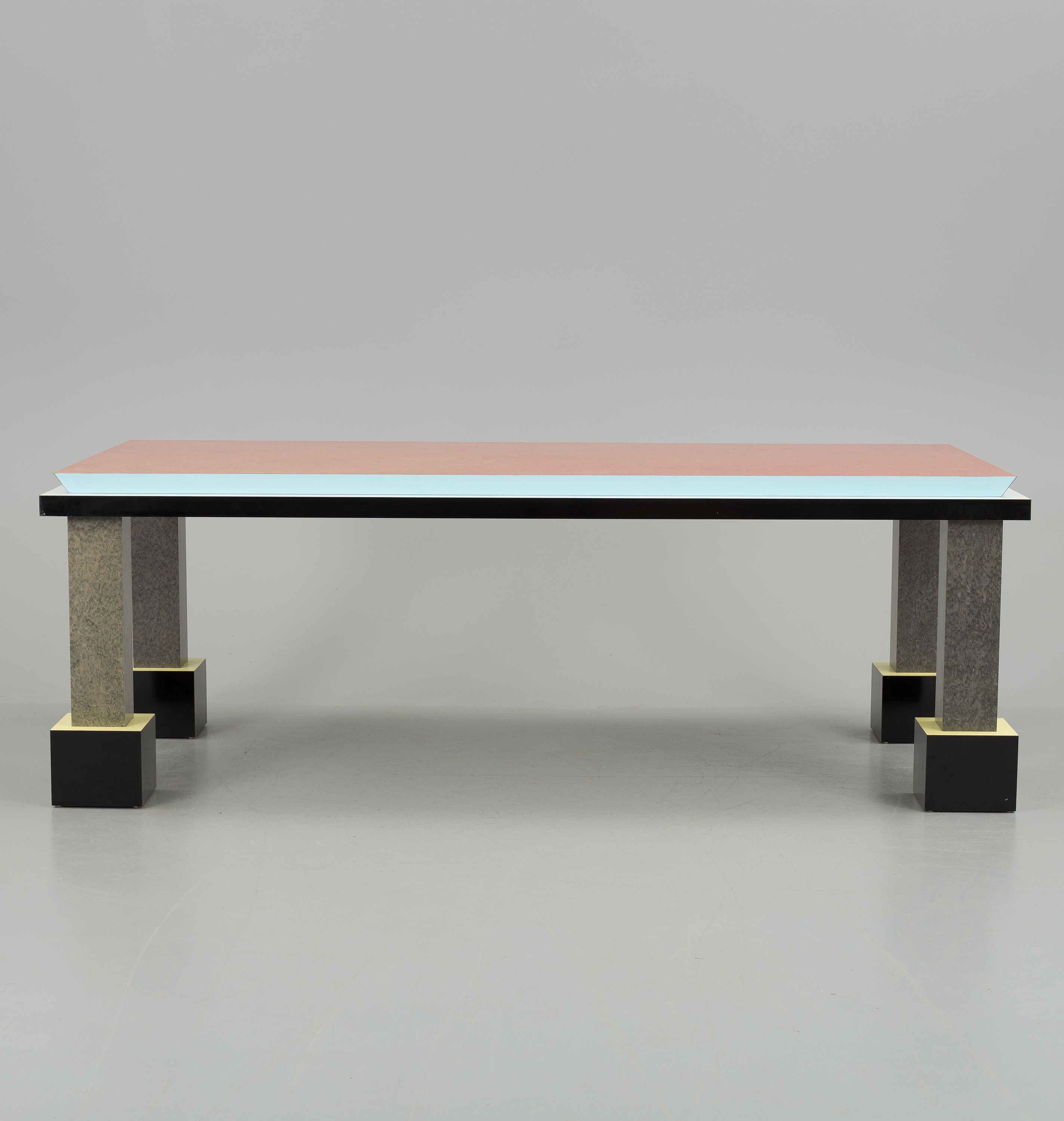 An Ettore Sottsass Palm Spring Table Memphis Italy Bukowskis