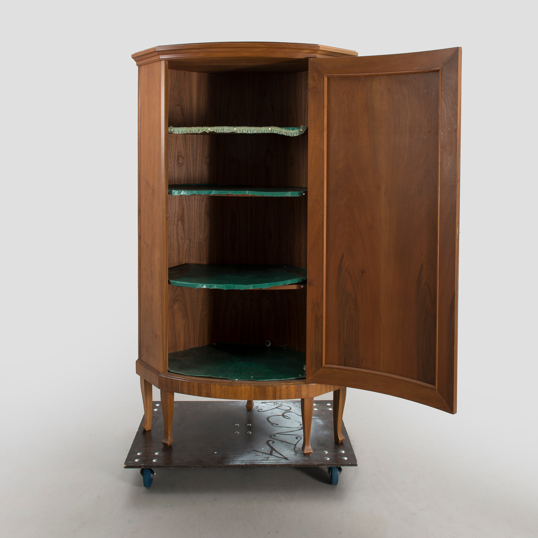 A Mid 20th Century Corner Cupboard Bukowskis