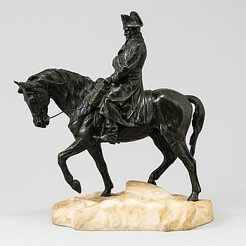OKÄND KONSTNÄR, skulptur, brons, signerad Conille, 1900-tal.